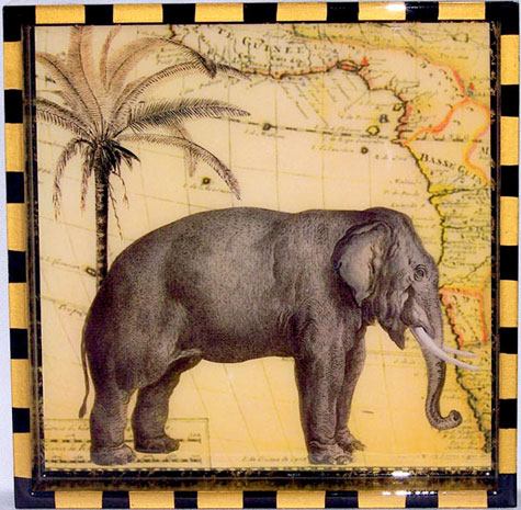 Small Elephant Tray-Weiland Industries