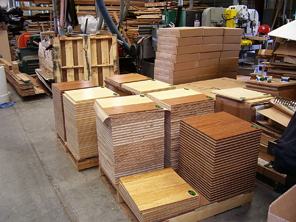 Flooring Sample Boards-Weiland Industries