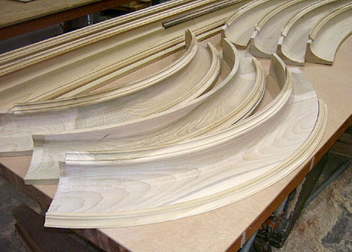Curved And Arch Moldings